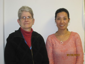 Mei Hui and her tutor, Susan Liddell, at Mei's Citizenship Ceremony