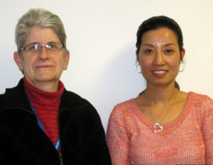 Susan and Mei Celebrate Citizenship